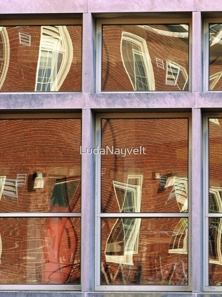 Crazy reflection by LudaNayvelt