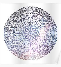 Love Mandala - Color Poster