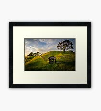 One Tree Hill (2) Framed Print
