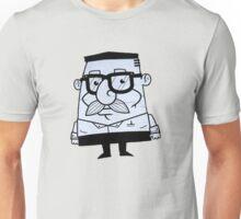 mustache man - street art Unisex T-Shirt