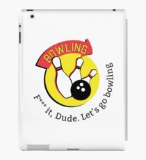 Big Lebowski bowling iPad Case/Skin