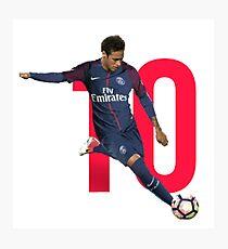 neymar - Under my window, a clean rasping sound Photographic Print