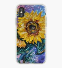 That Sunflower From The Sunflower State by OLena Art - brand  iPhone Case