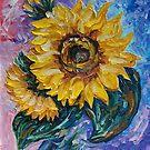 Diese Sonnenblume aus dem Sonnenblumenstaat von OLena Art - Brand von OLena  Art ❣️