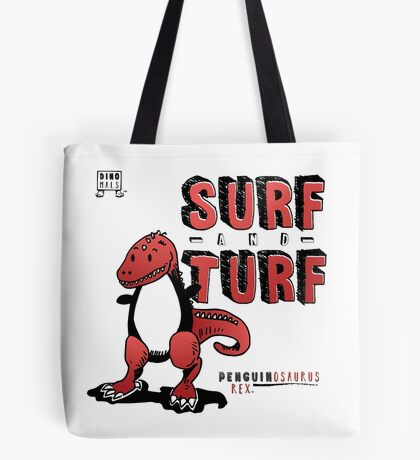 Surf and Turf Tote Bag