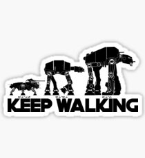 AT WALKERS 2 Sticker