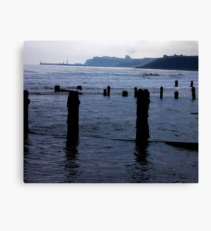 Evening Tide - Sandsend Canvas Print