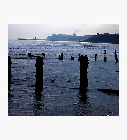 Evening Tide - Sandsend Photographic Print