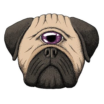 The All-Seeing Pug by srclark