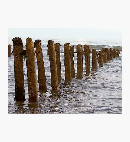 Sea Defence Photographic Print