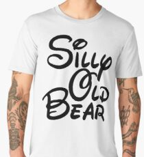 silly old bear 3 Men's Premium T-Shirt