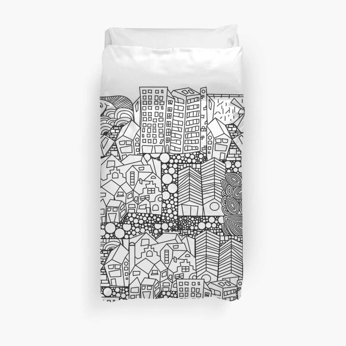 Doodle and the city by StudioRenate