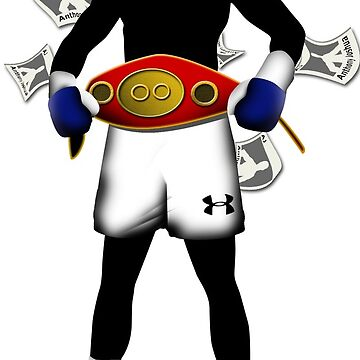 Anthony Joshua Silhouette by roffy