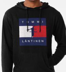 Tommi Läntinen Huppari , T-Paita , (Musta,Valkoinen, Värit) (Replica) Lightweight Hoodie