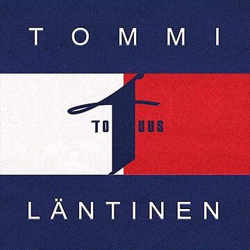 Tommi Läntinen Huppari , T-Paita , (Musta,Valkoinen, Värit) (Replica) by pepelover2015