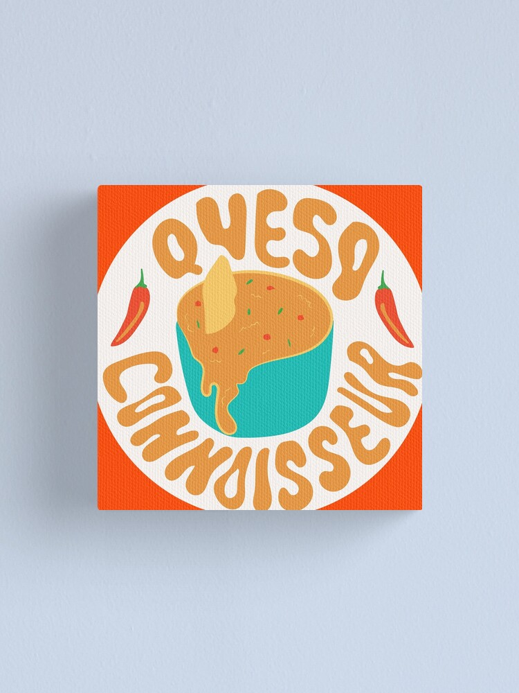 Alternate view of Queso Connoisseur Canvas Print