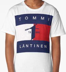Tommi Läntinen Huppari , T-Paita , (Musta,Valkoinen, Värit) (Replica) Long T-Shirt