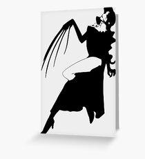 Anime Lust Inspired Shirt Greeting Card