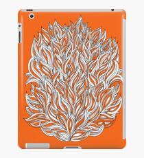 Flame and Smoke - Abstract Design iPad Case/Skin