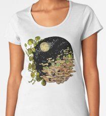 Village || Surreal Illustration by Chrysta Kay Women's Premium T-Shirt