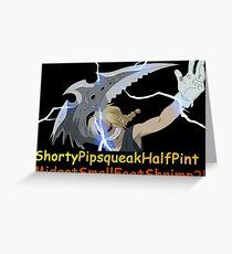 Anime Inspired Shirt Greeting Card
