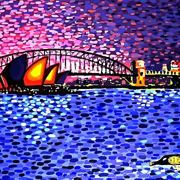 Sydney Harbour by hoganartgarage