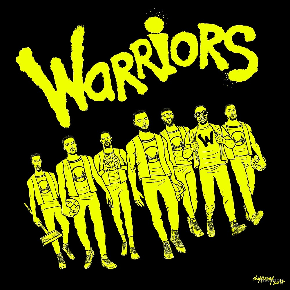 The Warriors - 2017/2018 by dukenny
