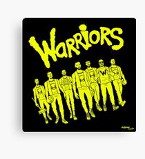 The Warriors - 2017/2018 Canvas Print