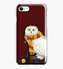 Hedwig the Owl iPhone Case/Skin