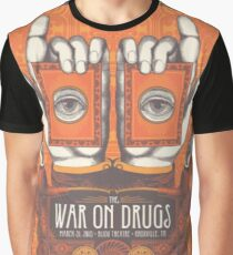 the war on drugs - that produces a square-shaped image two and a quarter inches Graphic T-Shirt