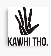 Kawhi Leonard Unofficial shirt  Canvas Print