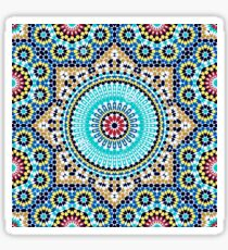 Moroccan inspired Design  Sticker