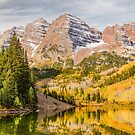 Reflections at Maroon Lake by Eric Glaser