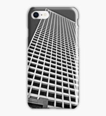 Highrise, Downtown Los Angeles, Black & White iPhone Case/Skin
