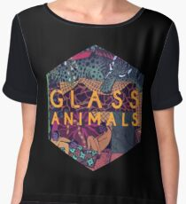 glass animals - At outdoor cafés that looked like gardens Chiffon Top