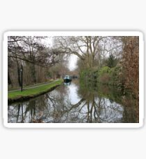 Oxford Canal Sticker