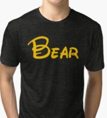 yellow bear Tri-blend T-Shirt