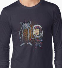 "SpaceKid and Comedian Stanley ""Leggytooth"" Bluetowski Long Sleeve T-Shirt"