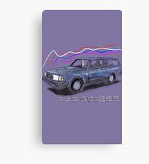 Volvo 240 Canvas Print