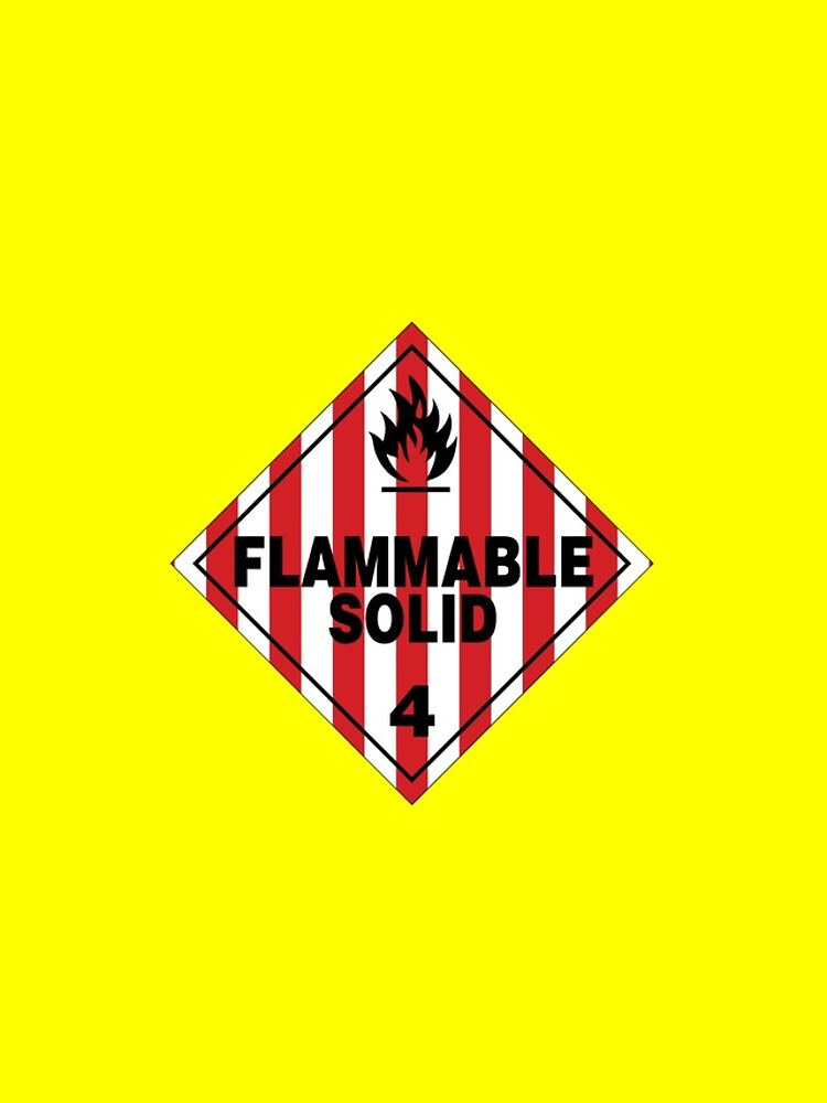 Flammable Solid by rupertrussell