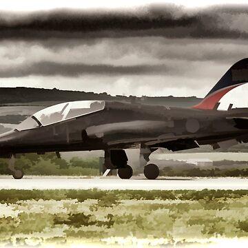 Fighter Jet by maryloufletcher