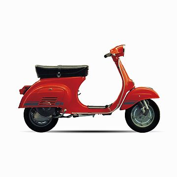 Red Vespa Primavera ET3 by redstar5