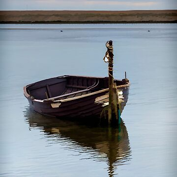 Lonely Boat by maryloufletcher