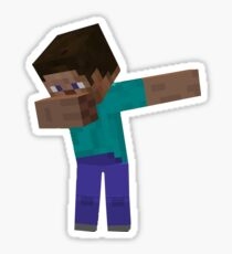 MINECRAFT DAB!! Sticker