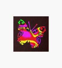 Coloured Butterfly Design Art Board