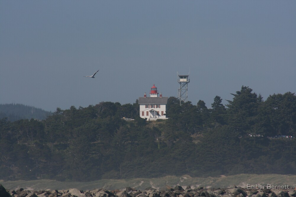 Yaquina Bay Lighthouse by Ember Barnett