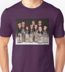 Group shot - Bottle Portraits T-Shirt
