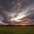 Alaska Sunset by Bob Hortman