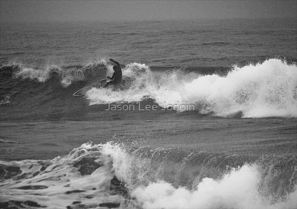 Kyle Storm Surf by Jason Lee Jodoin