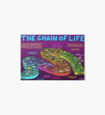 The Chain of Life - Your Evolutionary History Art Board